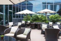 Outdoor Lounge Stock Photo