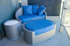 Outdoor Lounge Furniture Stock Image