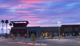Outdoor Mall stock photo