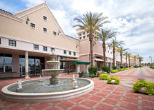 Outdoor Mall stock photography