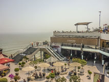 Outdoor Mall in Lima Peru Royalty Free Stock Photo