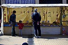 Outdoor market in Carmona 27 Stock Photos