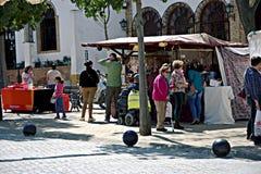 Outdoor market in Carmona 28 Royalty Free Stock Photos