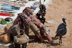Outdoor market in Kenya Royalty Free Stock Image