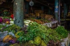 Outdoor market in Sri-Lanka Stock Image