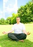 Outdoor Meditation stock photos