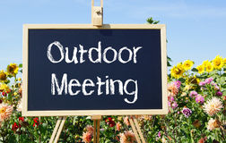 Outdoor Meeting Royalty Free Stock Photos
