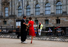 Outdoor milonga Royalty Free Stock Images