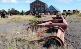 Outdoor mine exhibit Stock Photography
