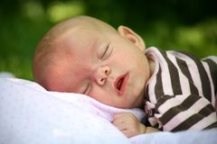 Outdoor Nap stock photography