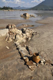 Outdoor Nature Creel Stone Sand River Royalty Free Stock Photos