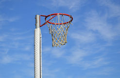 Outdoor Netball Ring Stock Photography