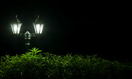 Outdoor Night lamp Royalty Free Stock Images
