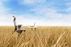 Outdoor office Stock Images