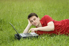 Outdoor office Stock Photography