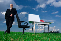 Outdoor Office royalty free stock photo