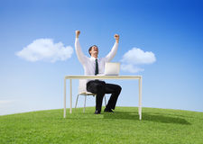 Outdoor Office Royalty Free Stock Photos
