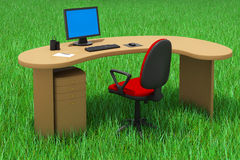 Outdoor Office Concept Stock Photo