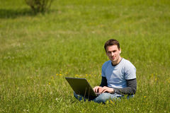 Outdoor office concept Royalty Free Stock Photography