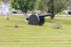 Outdoor Ornamental Cannon royalty free stock photography