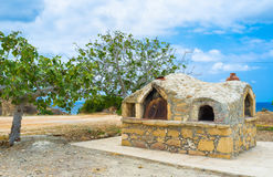 The outdoor oven Stock Images