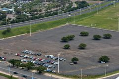 Outdoor parking in Durban Stock Images