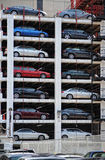 Outdoor Parking Garage Stock Image
