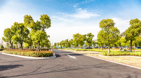 Outdoor parking road Stock Photos