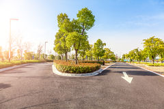 Outdoor parking road Stock Image