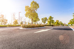 Outdoor parking road Stock Photography