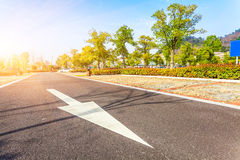 Outdoor parking road Royalty Free Stock Photography