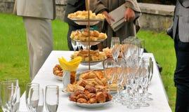 Outdoor party Royalty Free Stock Photos