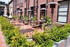 Outdoor patio Royalty Free Stock Photos