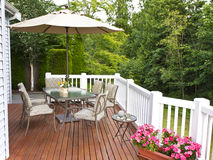 Outdoor Patio Stock Photos