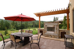 Outdoor Patio Stock Photography