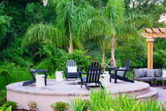 Outdoor Patio Royalty Free Stock Photography