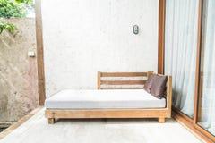 outdoor patio bed Royalty Free Stock Photos