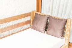 outdoor patio bed Royalty Free Stock Photography