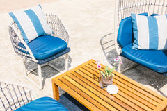 Outdoor patio Royalty Free Stock Images