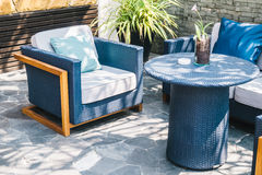 Outdoor patio Royalty Free Stock Image