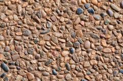 Outdoor pebble paving Stock Photos