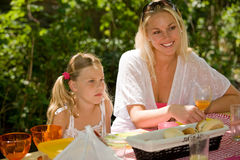 Outdoor picnic Royalty Free Stock Image