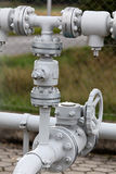 Outdoor pipeline Stock Photography