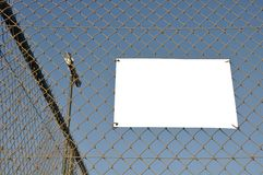 Outdoor placard Royalty Free Stock Image