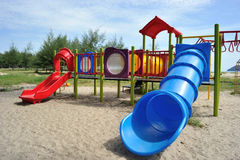 Outdoor Playground Royalty Free Stock Images