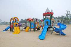Outdoor Playground Royalty Free Stock Photos