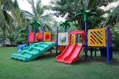 Outdoor Playground Stock Photo