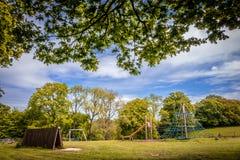 Outdoor Playground Royalty Free Stock Photos
