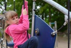 Outdoor playground adventures Stock Image