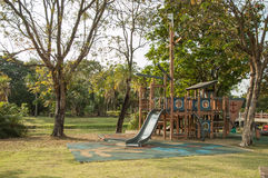Outdoor playground in the Park Royalty Free Stock Images